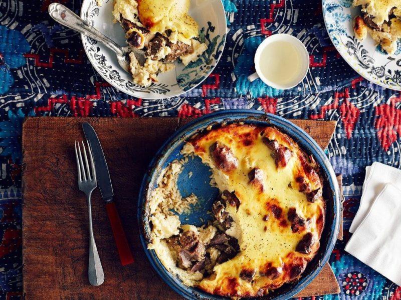 Traditional Albanian Dish - Tave Kosi