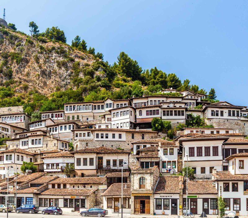 Mangalem Neighborhood Berat