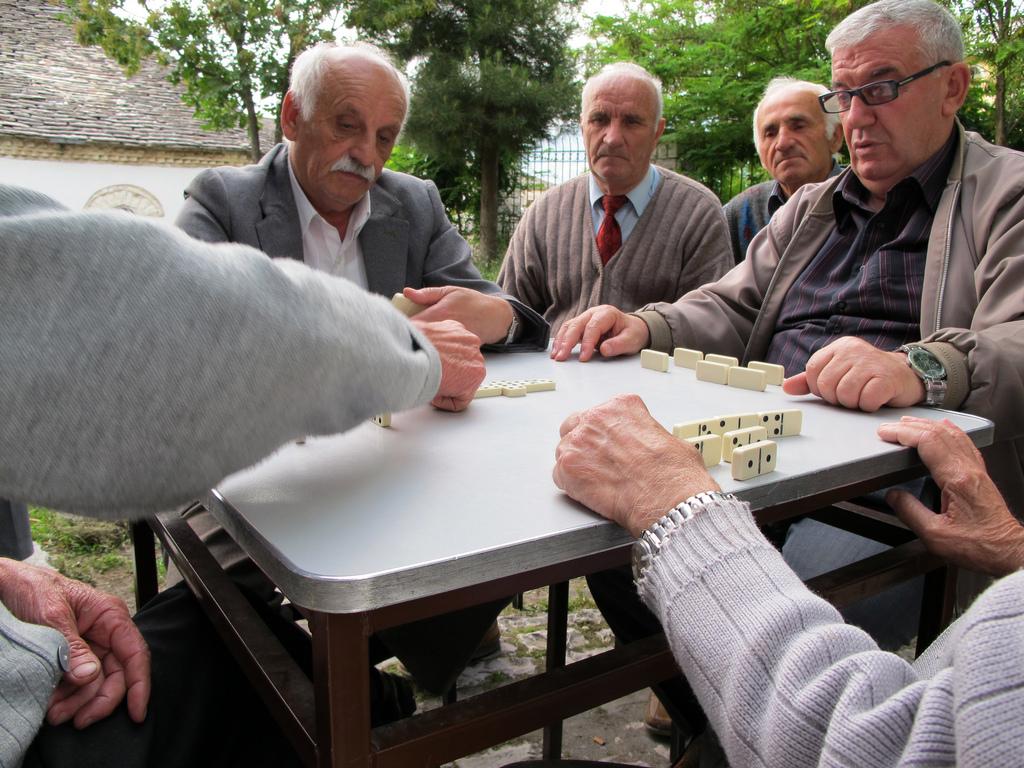 Tour of Berat Local people