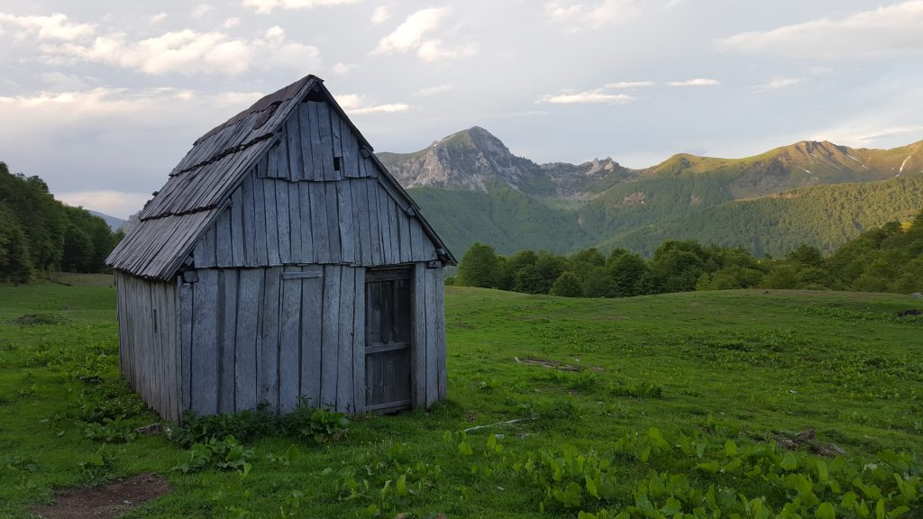 shepard hut in Peaks of Balkans