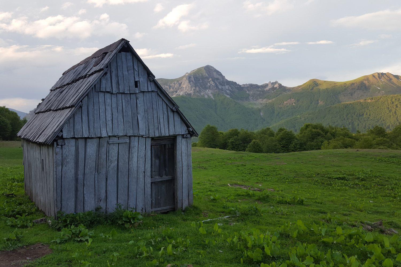shepard hut in Peaks of Balkans