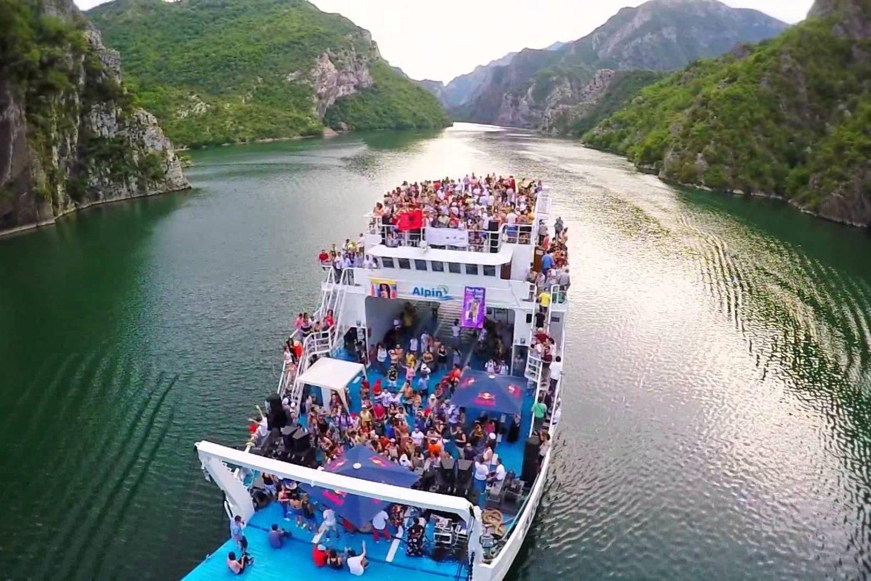 Koman Lake, Albania