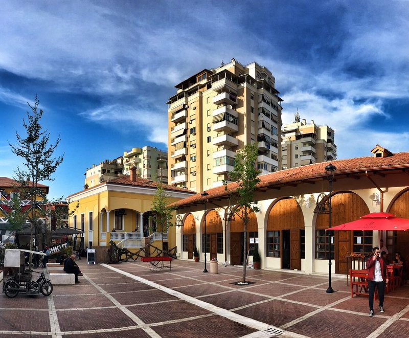 New Bazaar Tirana