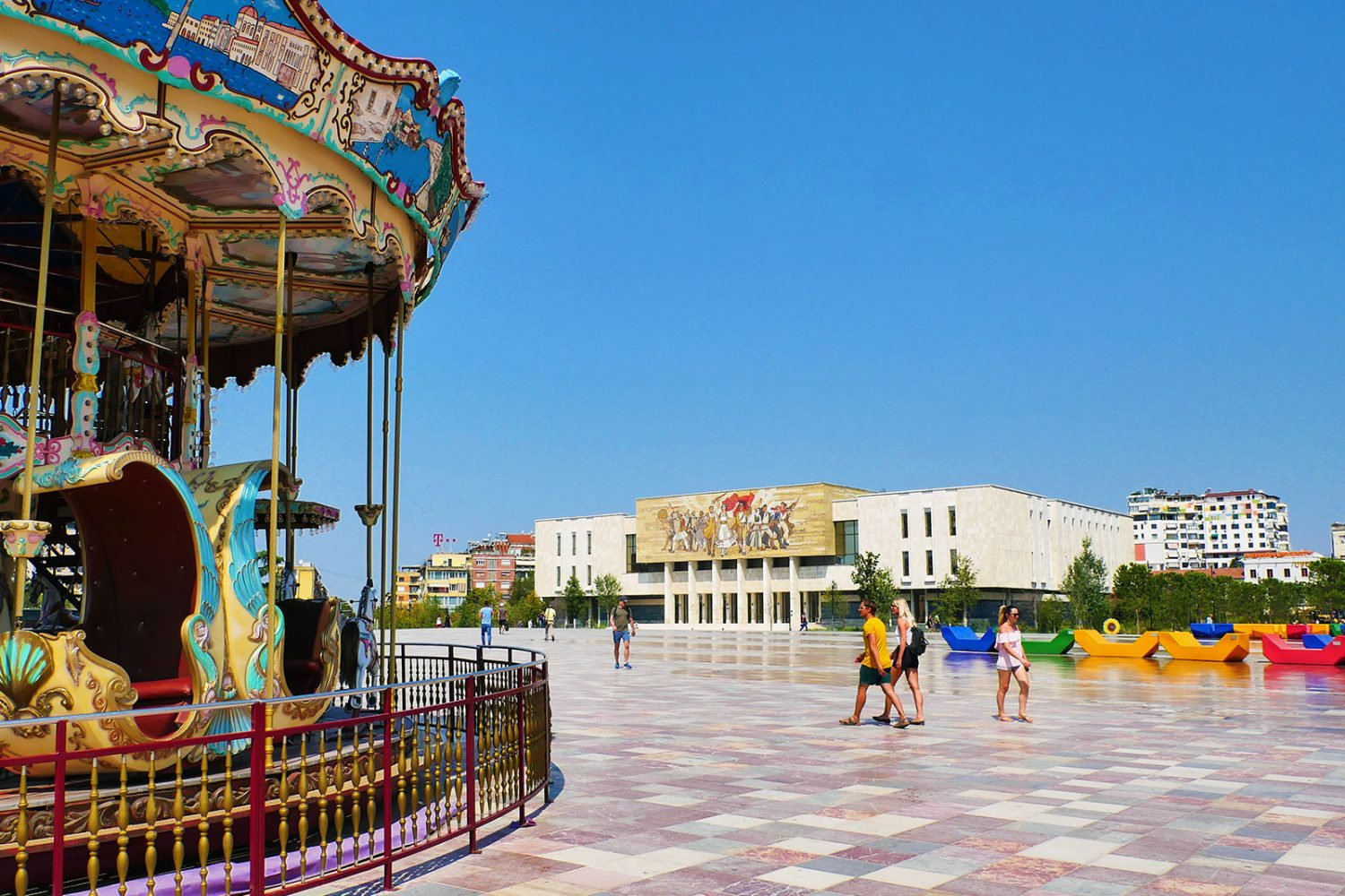 Walking Tour of Tirana