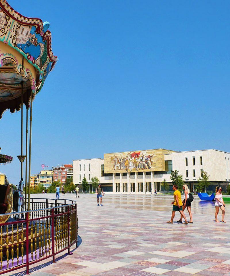 Walking Tour of Tirana