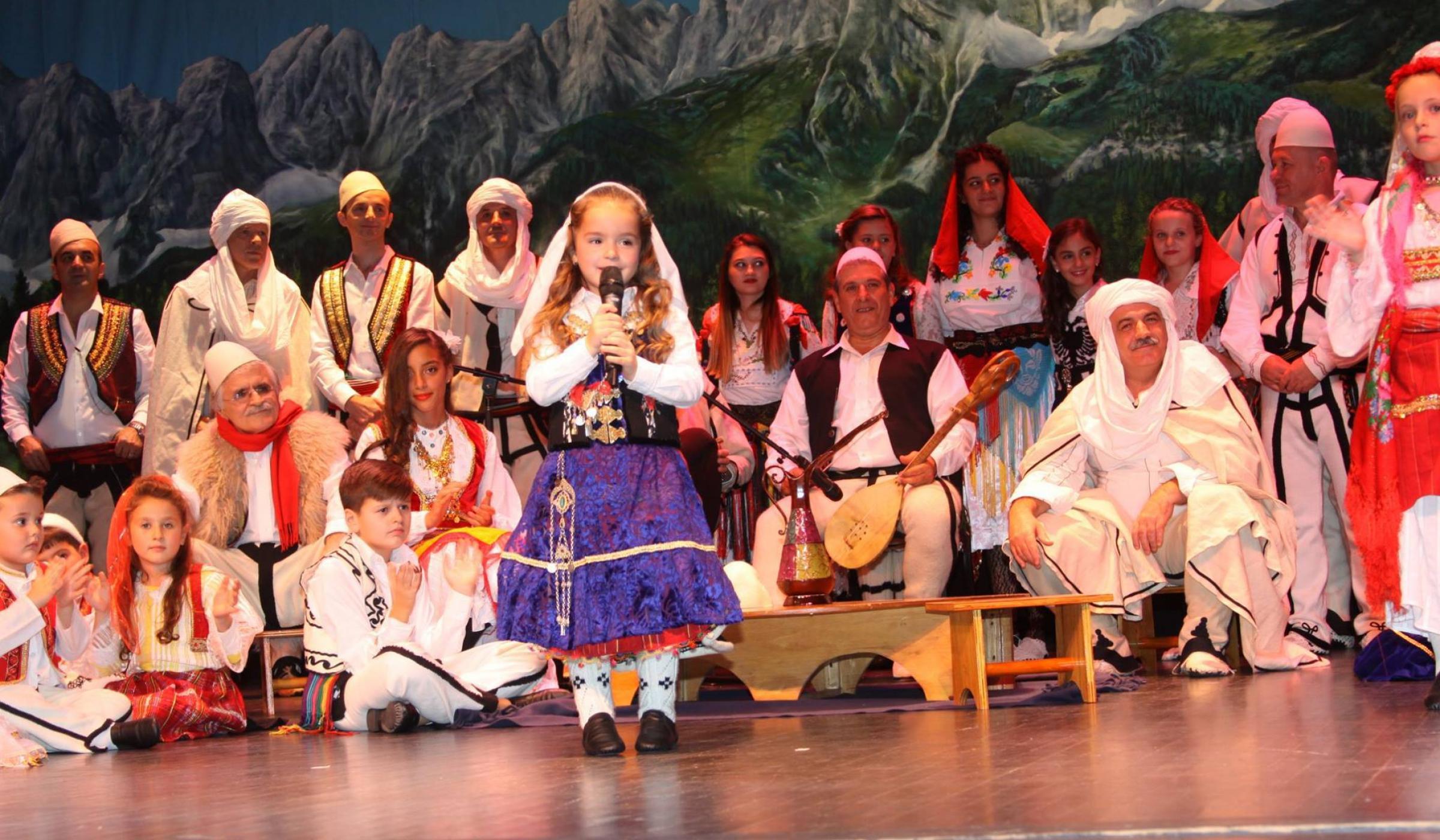 local albanian dresses & Food Tour Tirana