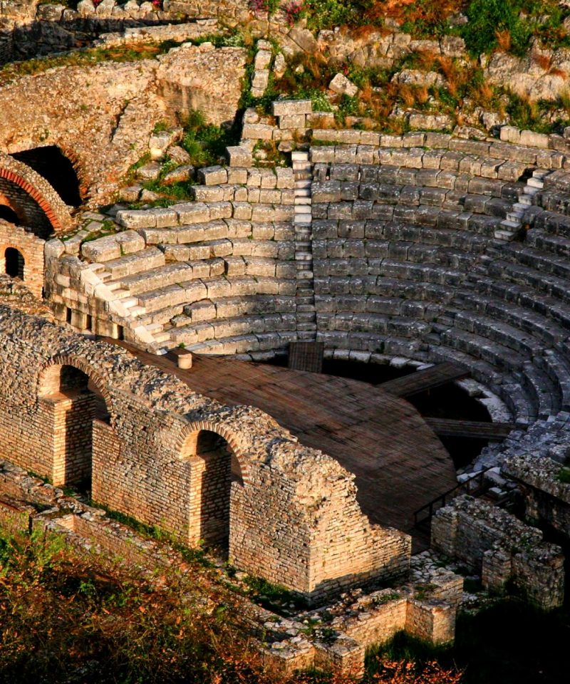 The heater of Butrint