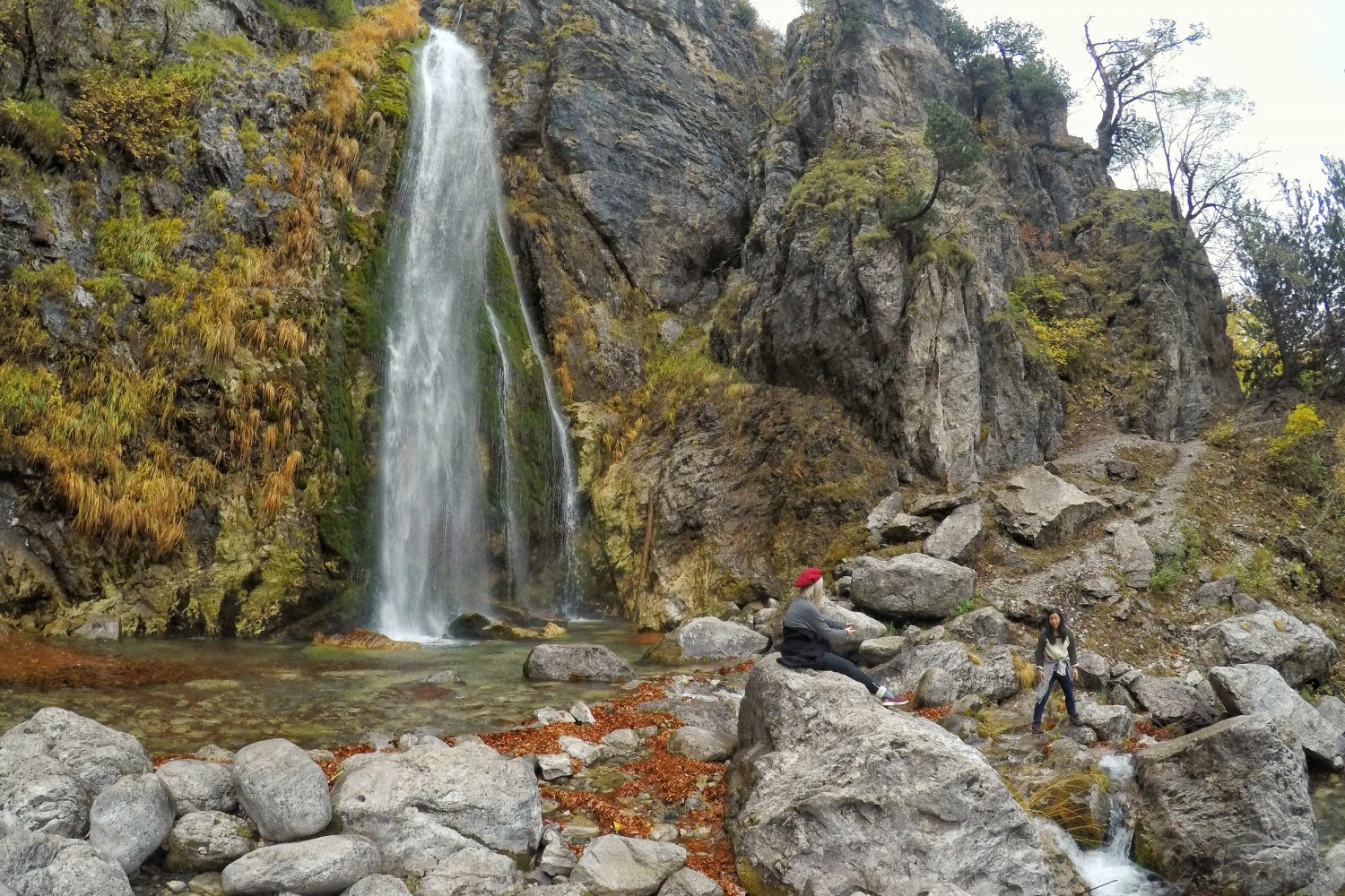The Waterfall of Theth