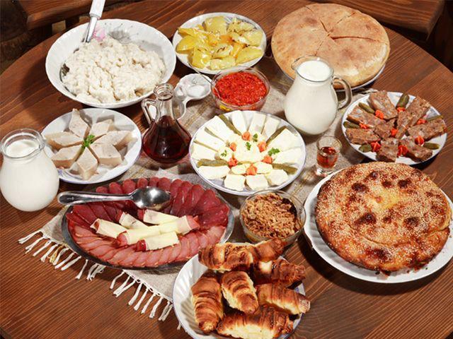 Albanian Lunch