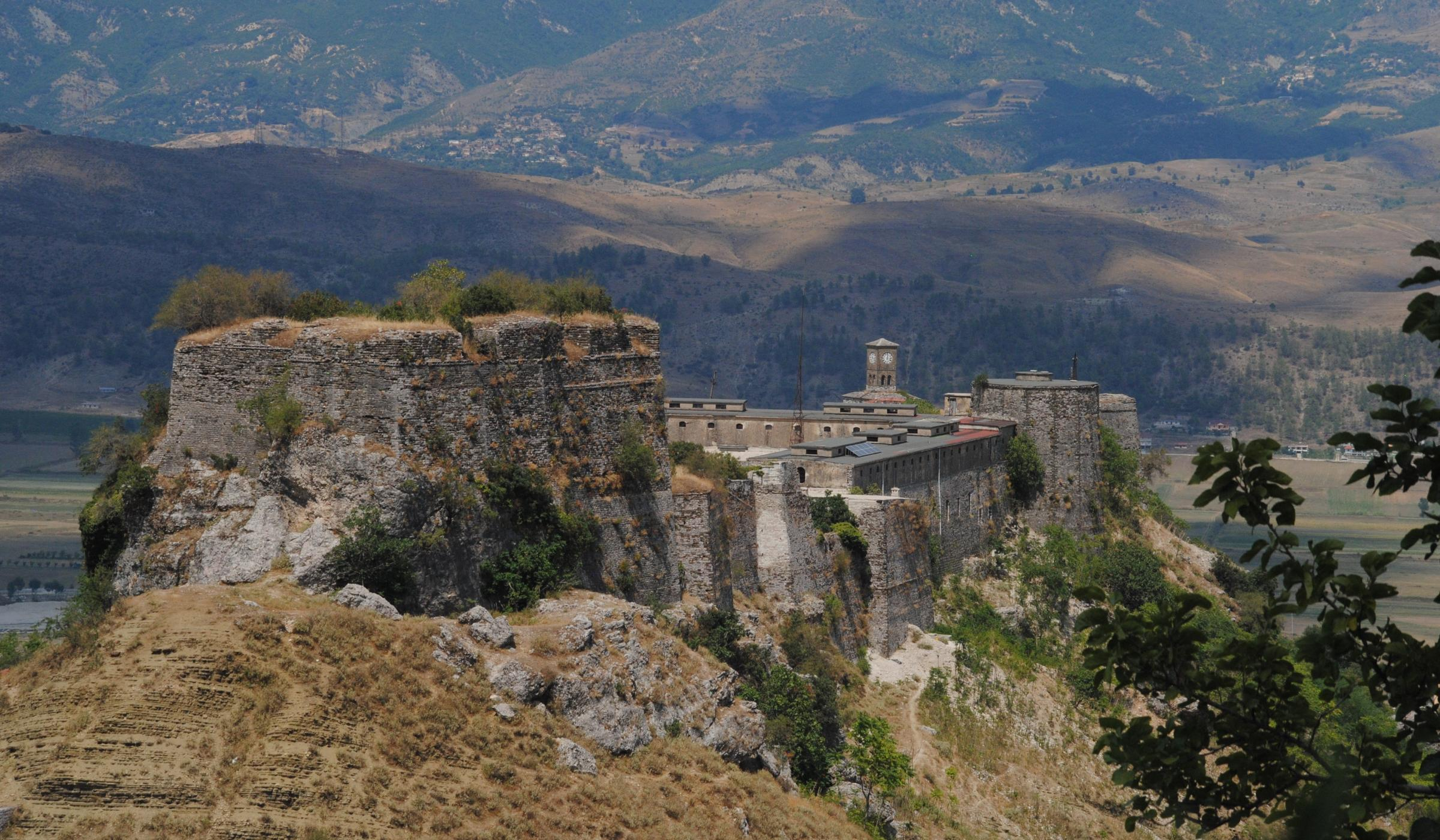 The castle of Gjirokaster
