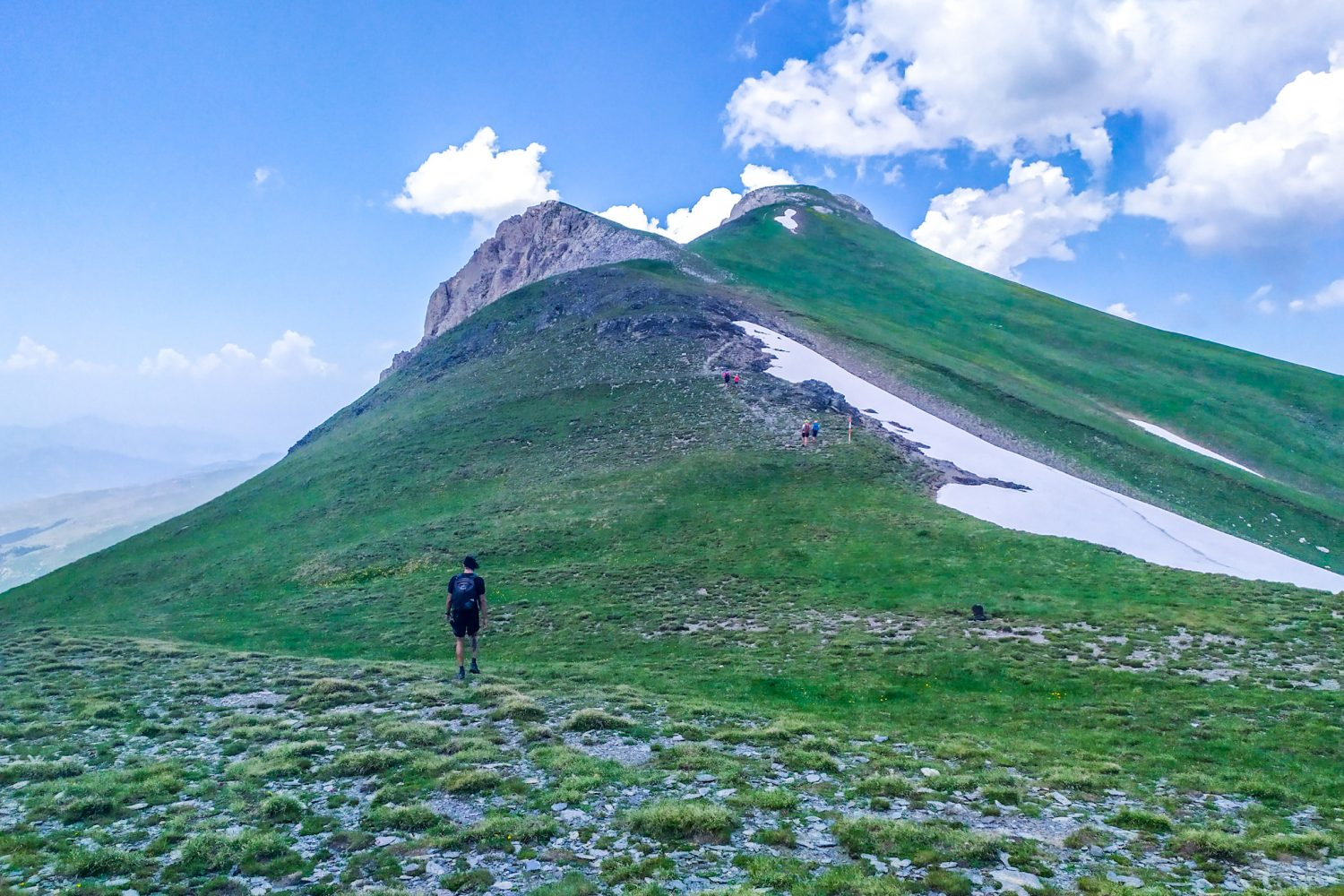 Summit of Korab Mountain