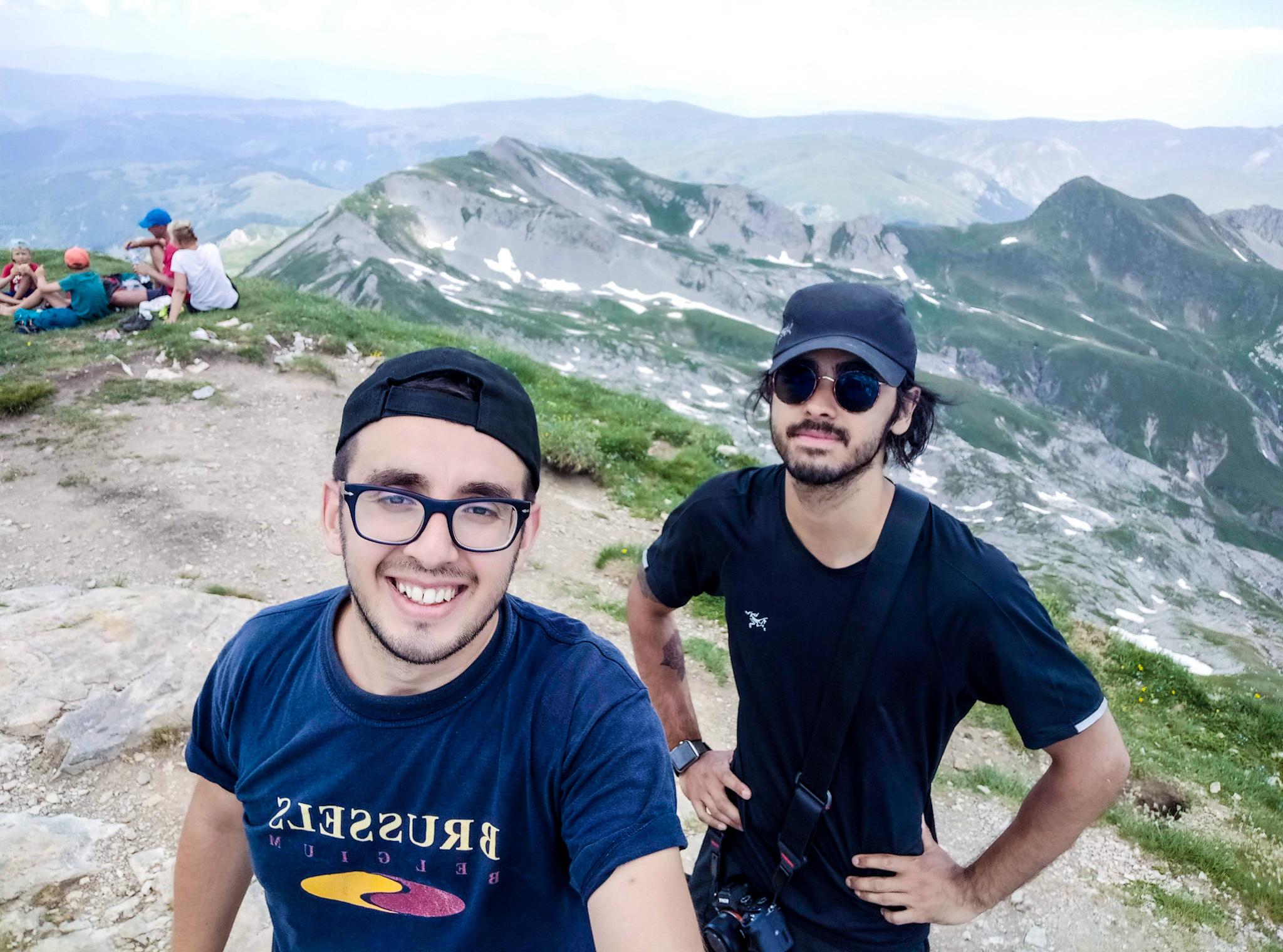 Hiking to Korab, Albania