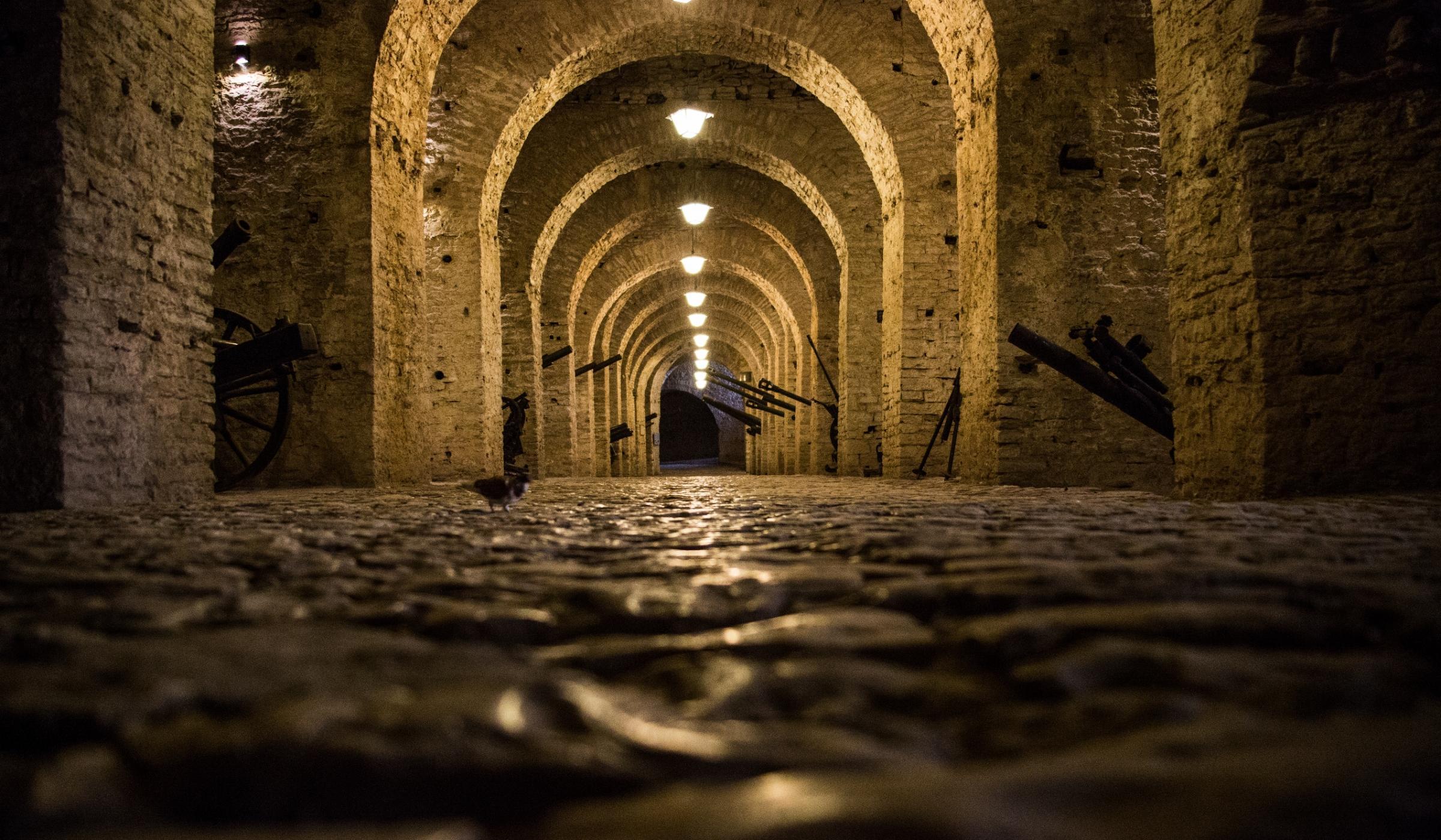 Cold War Tunnel gjirokaster