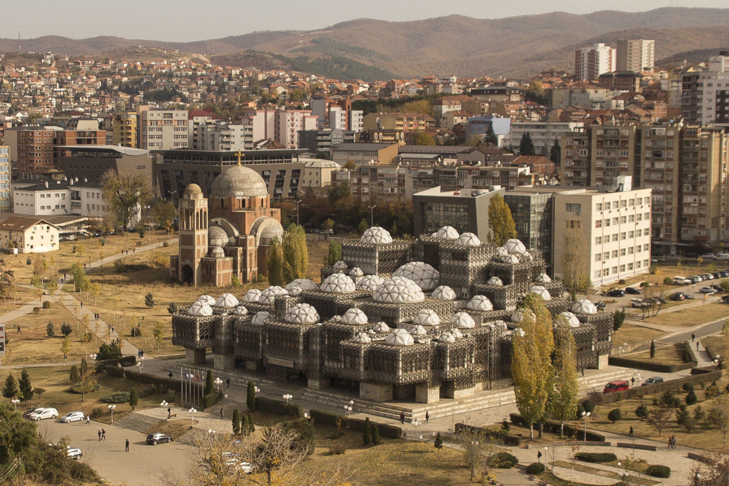 The Library of Pristina