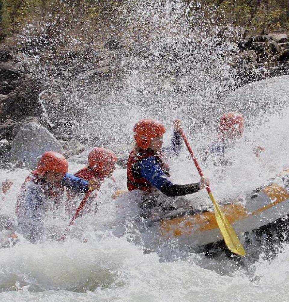 Rafting at Vjosa Albania
