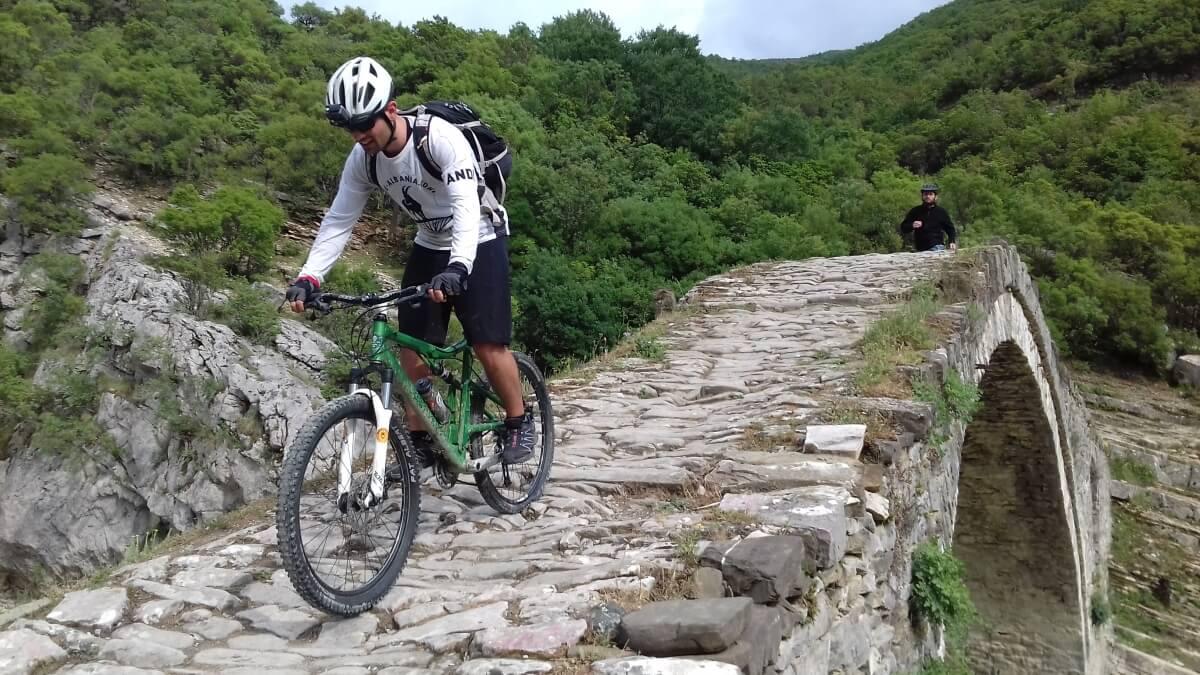 cycling in Albania