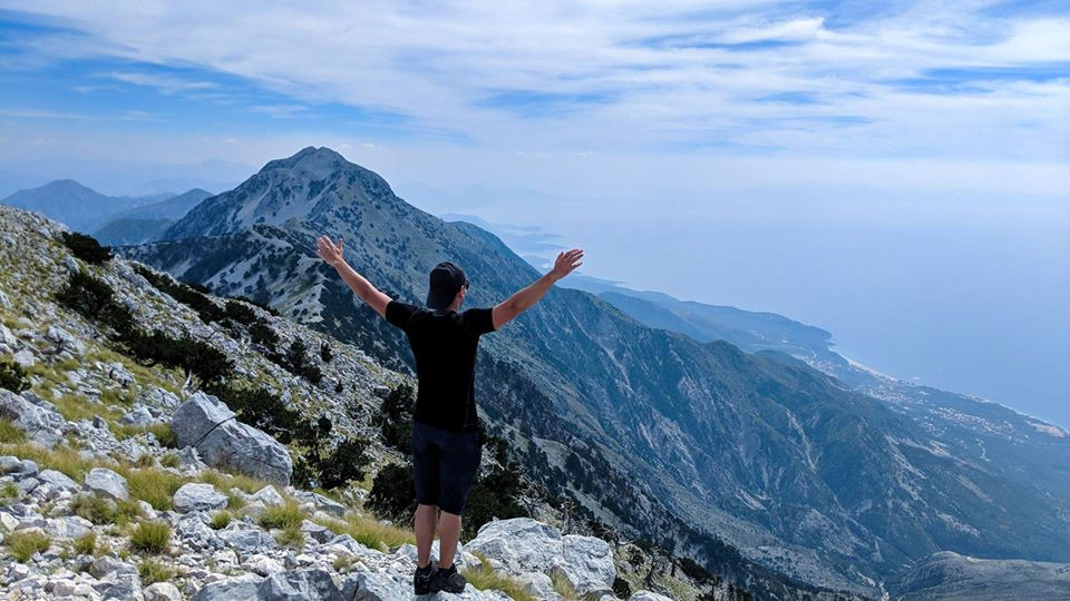 Hiking in Albanian South