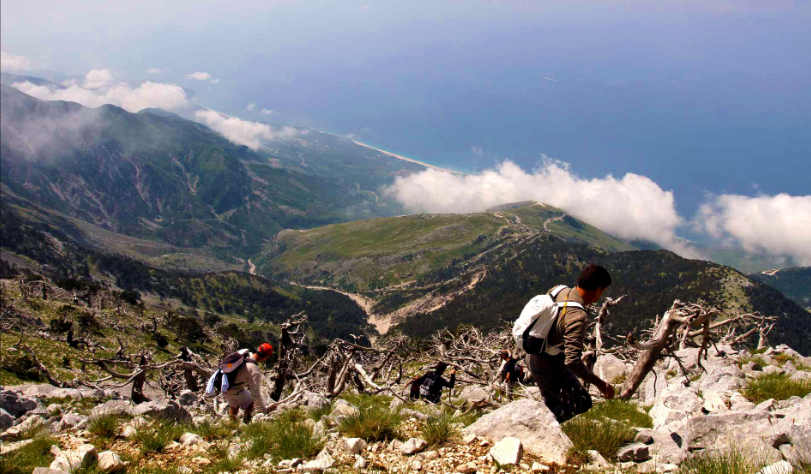 Hiking in South Albania