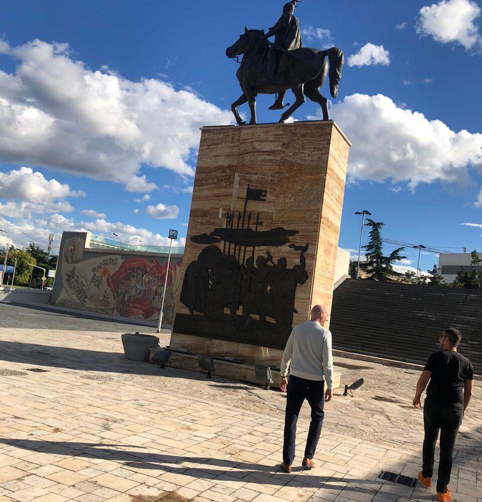 Skanderbeg Square - North Macedonia