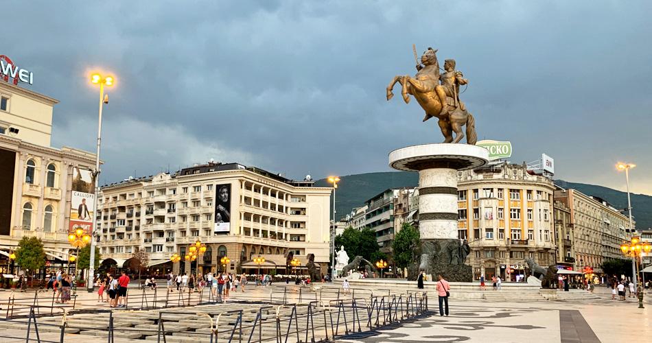 Tour of Skopje from Tirana