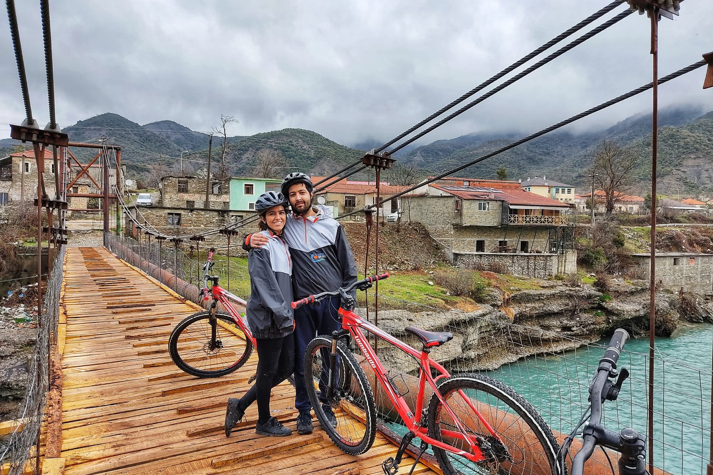Biking in Albania
